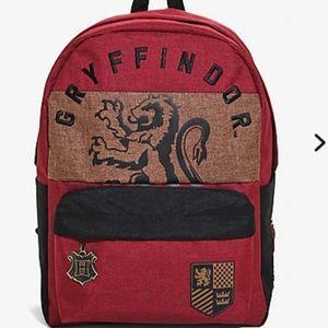 Harry Potter Gryffindor Color Block Backpack